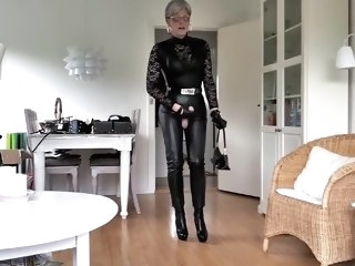 foot fetish leather